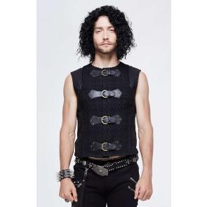 Devil Fashion Gothic Men Vests Top