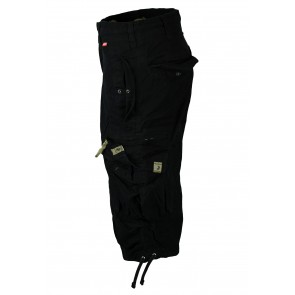 Shorts Three Quarter Black Molecule