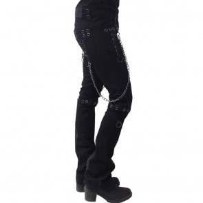 Gothic Lady Trouser Two In One