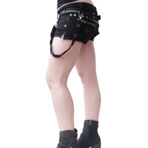 Gothic Lady Hotpants Bondage