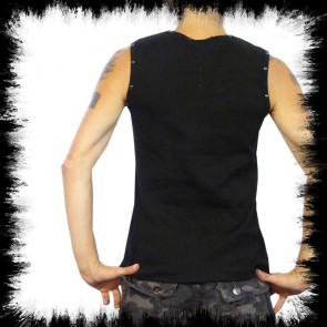 Gothic Mens T Shirt Rivets