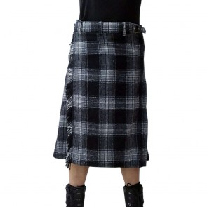 Kilt Grey Black