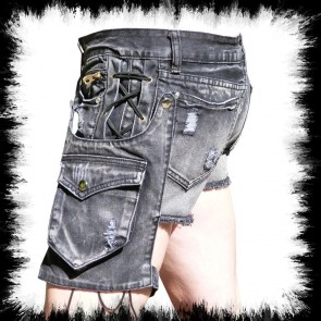 Lady Laced Shorts With Hosterbag