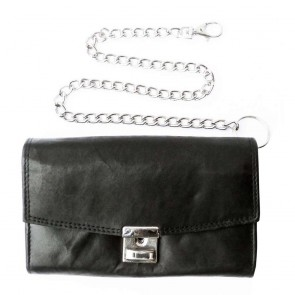 Big Biker Leather Wallet