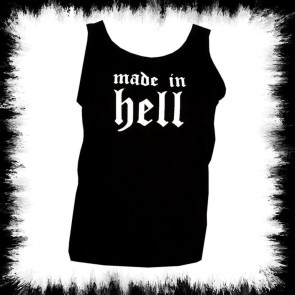 Black Ladies Tank Top Made In Light