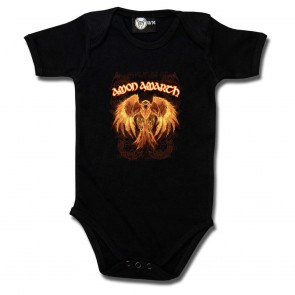 Baby Bodysuit, Amon Amarth Burning Eagle