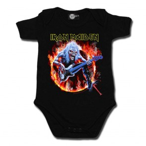 Baby Bodysuit, Iron Maiden Fear Live Flames