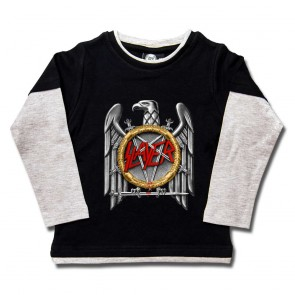 Kids Longsleeve, Slayer Silver Eagle
