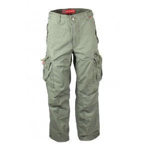 Molecule Cargo Pants Long Gray