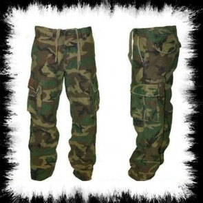 Molecule Pants Long Woodland Camo