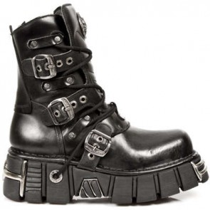 M.1010-C1 New Rock Boots Metallic