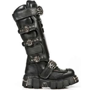 M.1024-S1 New Rock High Boots Metallic