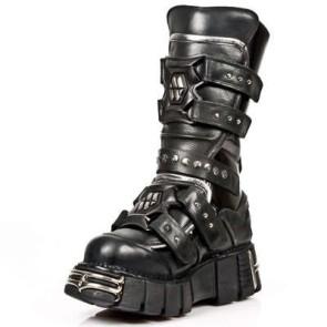 M.1026-C1 New Rock Boots Metallic