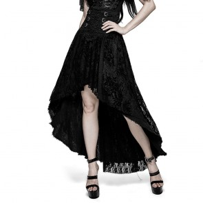 Belladonna Gothic Long Skirt - Punk Rave