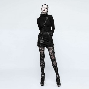 Black Harpy Gothic Skirt - Punk Rave