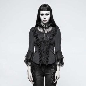 Black spirit Gothic Shirt - Punk Rave