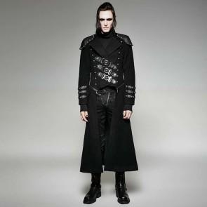 Gothic Coat Army Style Punk Rave