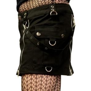Gothic Bondage Miniskirt