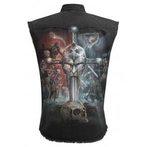 Apocalypse - Sleeveless Stone Washed Worker Plus Size