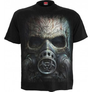 Bio-Skull Black T Shirt