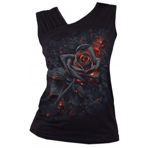 Burnt Rose Lady Sleeveless Top