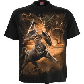 Centaur Slayer Black T Shirt