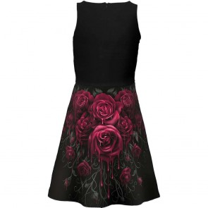 Gothic Dress Blood Roses