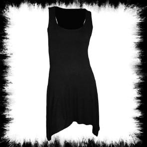 Schwarze Gothic Kleid