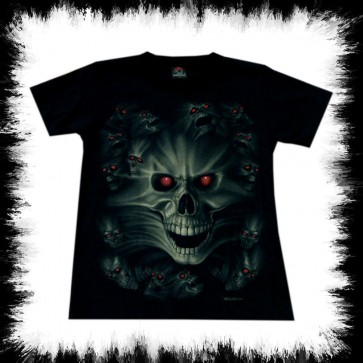 Heavy Metal T Shirt Skull Souls