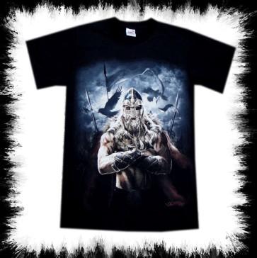 Heavy Metal T Shirt Viking Warrior