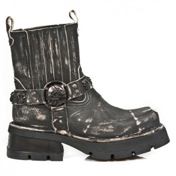 M.1621MTL-S1 New Rock Bottes Metal toe
