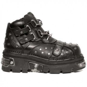 M.706-R1 New Rock Botin Metallic
