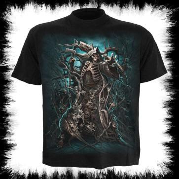 Forest Reaper T Shirt Noir