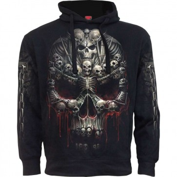 Sweat A Capuche Gothique Bone Cross