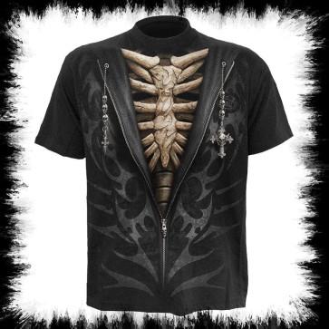 Gothique T Shirt Os Tribal
