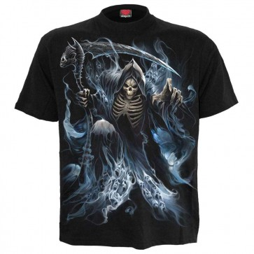T Shirt Heavy Metal Ghost Reaper