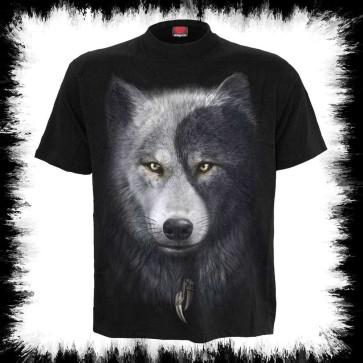 Wolf Chi T Shirt Noir