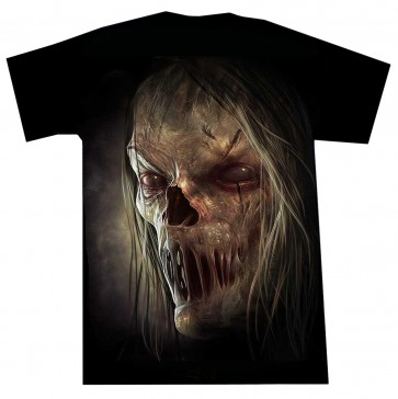 Heavy Metal T Shirt Zombie