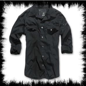 Brandit Chemise Homme Noir