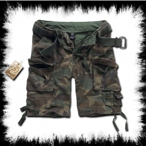 Brandit Short Savage Woodland Camouflage