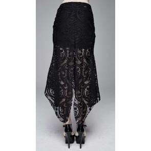 Devil Fashion - Jupe en dentelle gothique