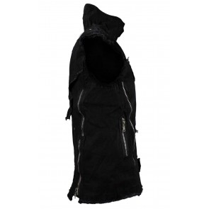 Gilet Gothic End Time Noir