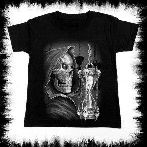 Heavy Metal T Shirt Enfants Time Is Running