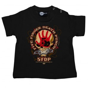 T Shirt  Bébé, 5 Finger Death Punch Knucklehead