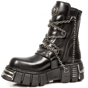 M.1011-S1 New Rock Bottes Metallic