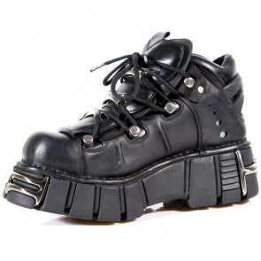 M.106-R14 New Rock Botin Metallic