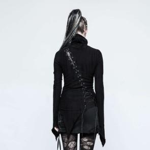Black Harpy Longsleeve Top - Punk Rave