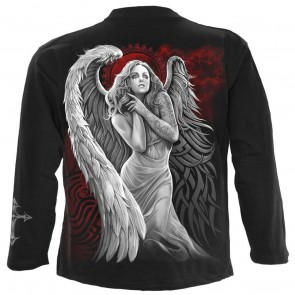 Angel Despair - T Shirt manches longues metal gothique noir