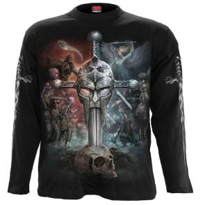 Apocalypse - T Shirt manches longues metal gothique noir
