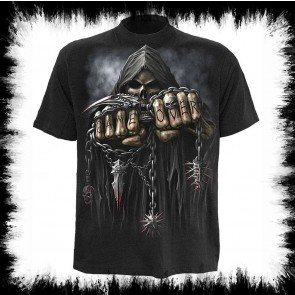 Heavy Metal T Shirt Enfants Gameover